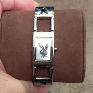 Playboy's Watch Silver